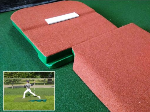 10 Inch Tall 2 Pc. Outdoor Pitching Mound