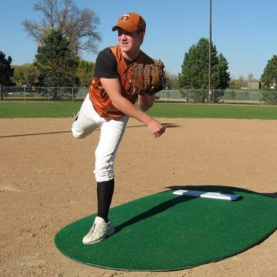"Full Size 6"" Game Mound Allows Pitcher's To Land"