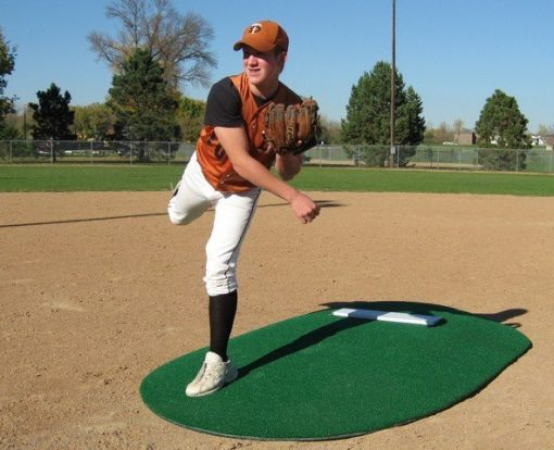 """Full Size 6"""" Game Mound Allows Pitcher's To Land"""