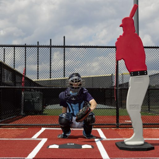 Designated Hitter Pitchers Target | Available In 2 Sizes | Red, Royal, Gray