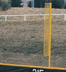 Pro Foul Pole Sets In 3 Most Popular Heights