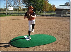 "Full Size 6"" Game Mound For Pitchers Up To 6 Ft. Tall - pitching mound"