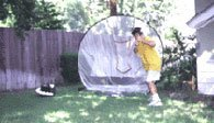 Easy Soft Toss Softball & Baseball Pitching Machine Thumbnail