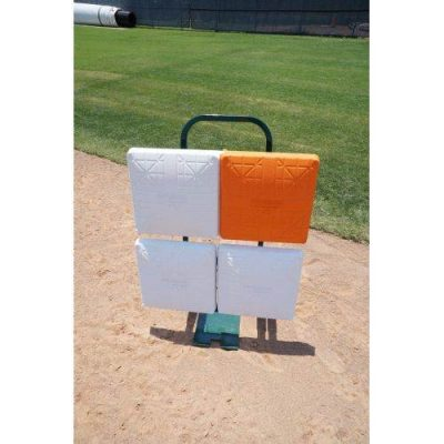 Baseball Base Cart Front View