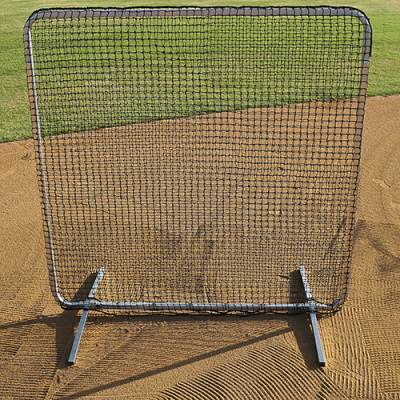 Baseball Fielders Screen 1st Base Screen Includes Detachable Legs