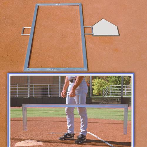 Folding Batters Box Template