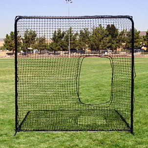 Economical 7' x 7' Softball Pitchers Screen