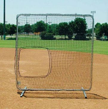 Softball Pitching Screen | 7' x 7' | 55 Lbs.