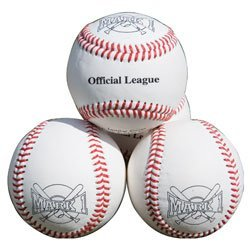 High Grade Leather Practice Baseballs-0