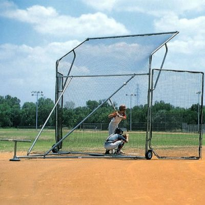 Portable Baseball Backstop - Rolling Backstop - Baseball Backstop Softball Backstop