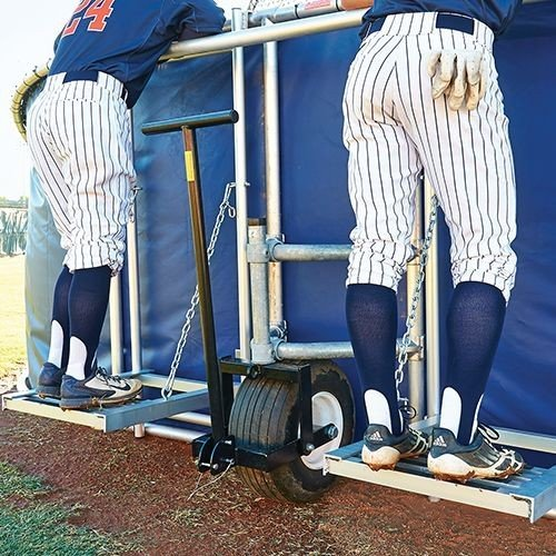 Big Bubba Elite Baseball Turtle Coaches Platforms | Can Be Added To Big Bubba Batting Cage