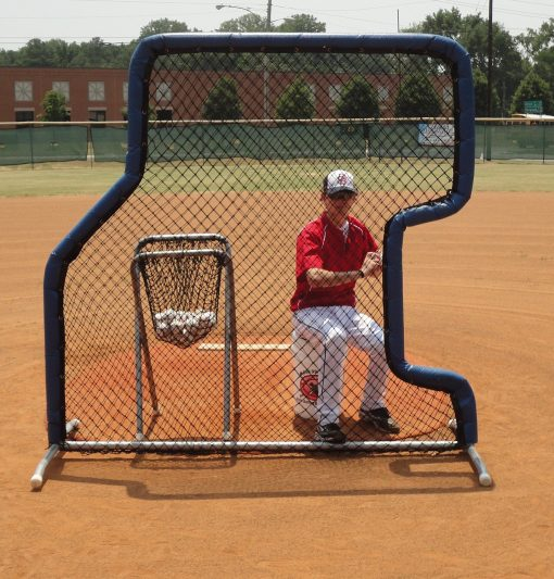 Baseball Softball Overhand Underhand Pitching Screen Padded Model