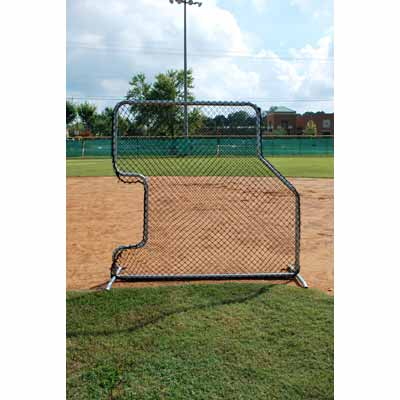 7' x 7' Underhand Overhand Pitching Screen For Baseball & Softball - No Padding Model