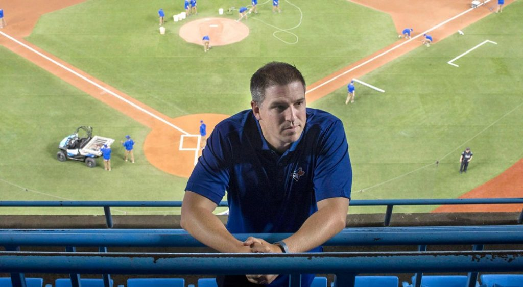 Andrew tinnish Toronto Blue Jays Assistant GM