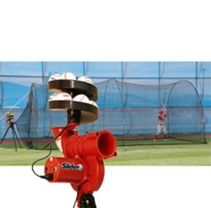 Heater Slider & Power Alley Batting Cage Package
