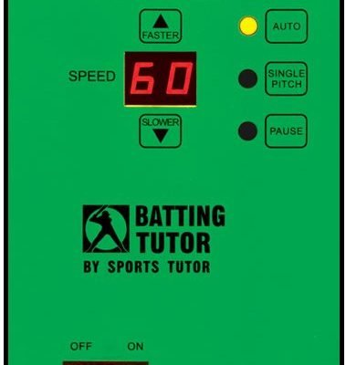 Batting Tutor Control Panel Closeup