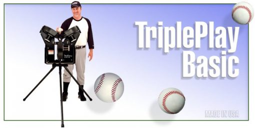 Triple Play Basic Pitching Machine