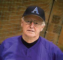 retired amherst college head baseball coach bill thurston