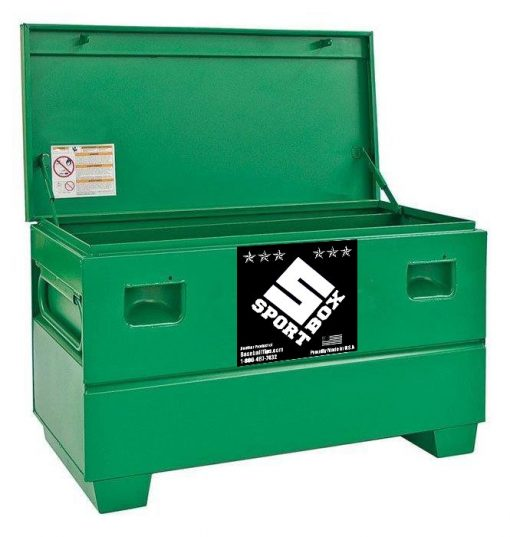 "The Sport Box Sports Equipment Storage Box 24"" x 25"" x 48"""