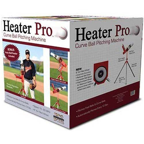 Heater Curveball Pro Baseball Pitching Machine Box | Ships Free!