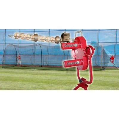 Heater Deuce Pitching Machine & Xtender Batting Cage