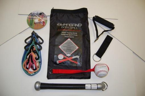 Duraband Baseball Tubing Baseball Bands Throwing & Batting System With Travel Bag