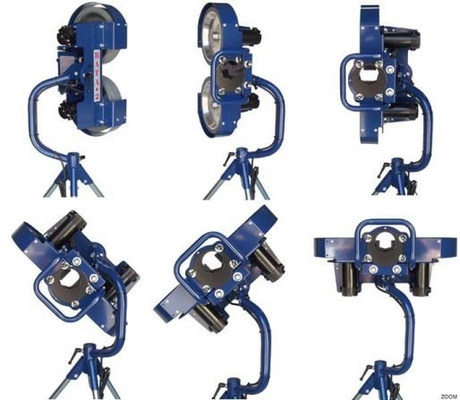 Bata 2 Pitching Machine Showing Delivery Positions & Angles