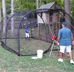 Xtender Batting Cage In 24', 30', 36' & Can Be Extended