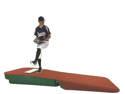 10 Inch Clay Astroturf Covered Indoor Practice Pitching Mound