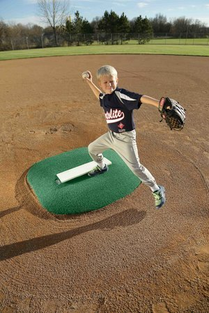 4 Inch Economy Pitching Mound In Green Astroturf®