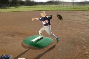 4 Inch Pitchers Mound In Green