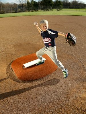 4 Inch Economy Portable Pitching Mound
