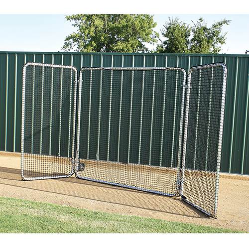 Pro Trifold Fungo Pro Baseball Screen With Included Wheel Kit