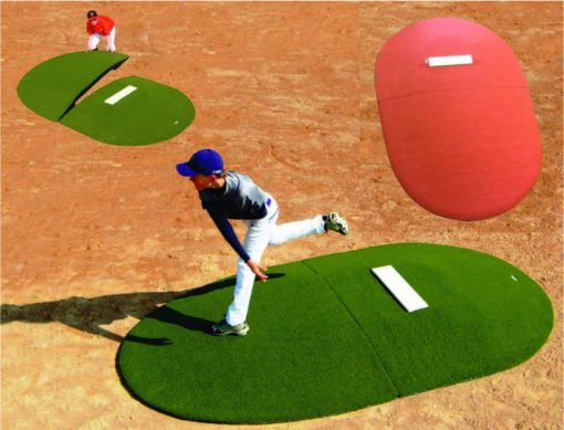 10 Inch 2 Pc. Portable Pitching Mound Full Game Mound