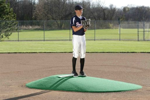 10 Inch Portable Pitching Mound With Astroturf - Pitching Mound Portable