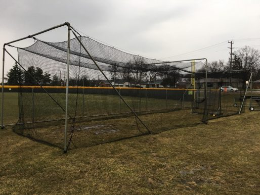 Our Deluxe Complete Batting Cage In A Local Park