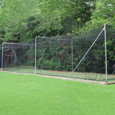 Complete Batting Cage Close Up