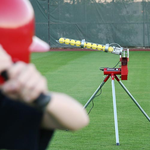 Heater Pitching Machine With Free Ship