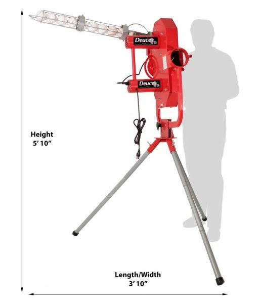 Heater Deuce Pitching Machine With Free Shipping