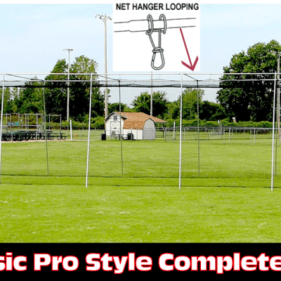 Complete Baseball Batting Cage