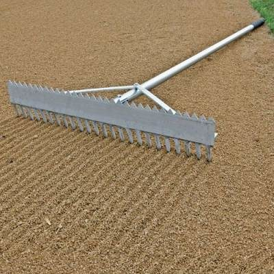 Baseball Double Play Field Rake