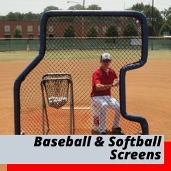 Baseball Screens | Softball Screens | L Screens
