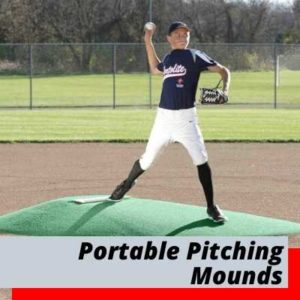Portable Game Practice Pitching Mounds