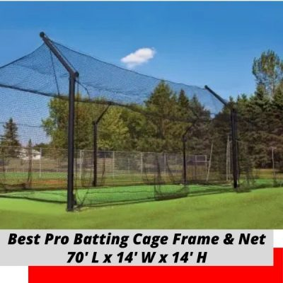 Best Pro Batting Cage 70x14