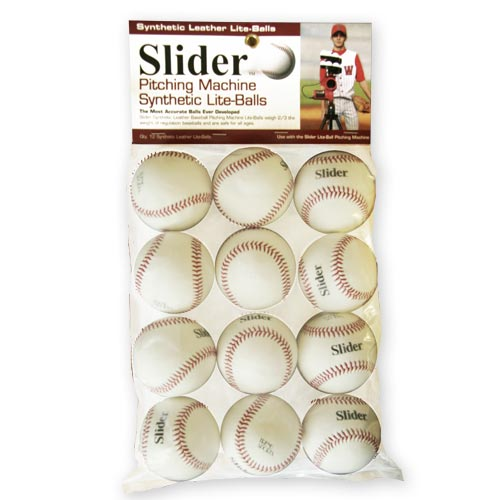 heater slider balls in package of 12