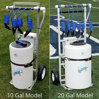 lil squirt big squirt hydration carts side by side