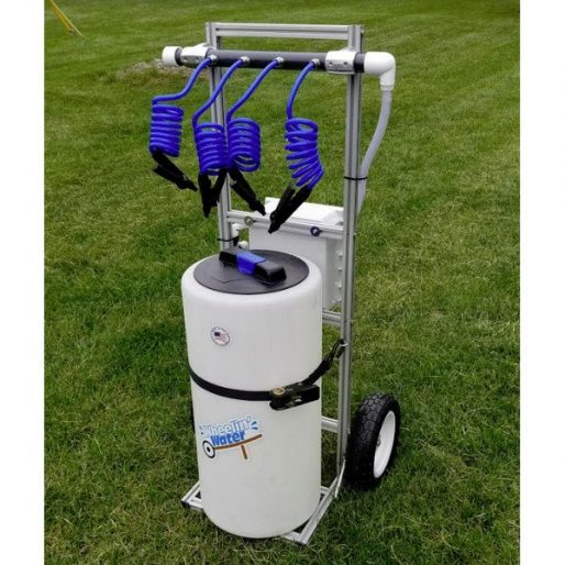 Small Rolling Hydration Cart Sports Drink Station