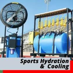 Sports Hydration | Water Stations | Outdoor Misting Fans