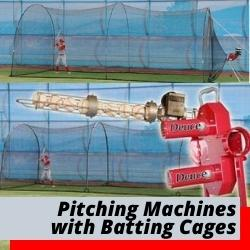 Pitching Machines And Batting Cages