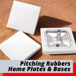 Home Plates Baseball Bases Rubbers & Carts
